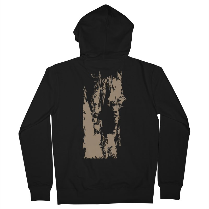 Geologic Explosion Men's French Terry Zip-Up Hoody by Irresponsible People Black T-Shirts