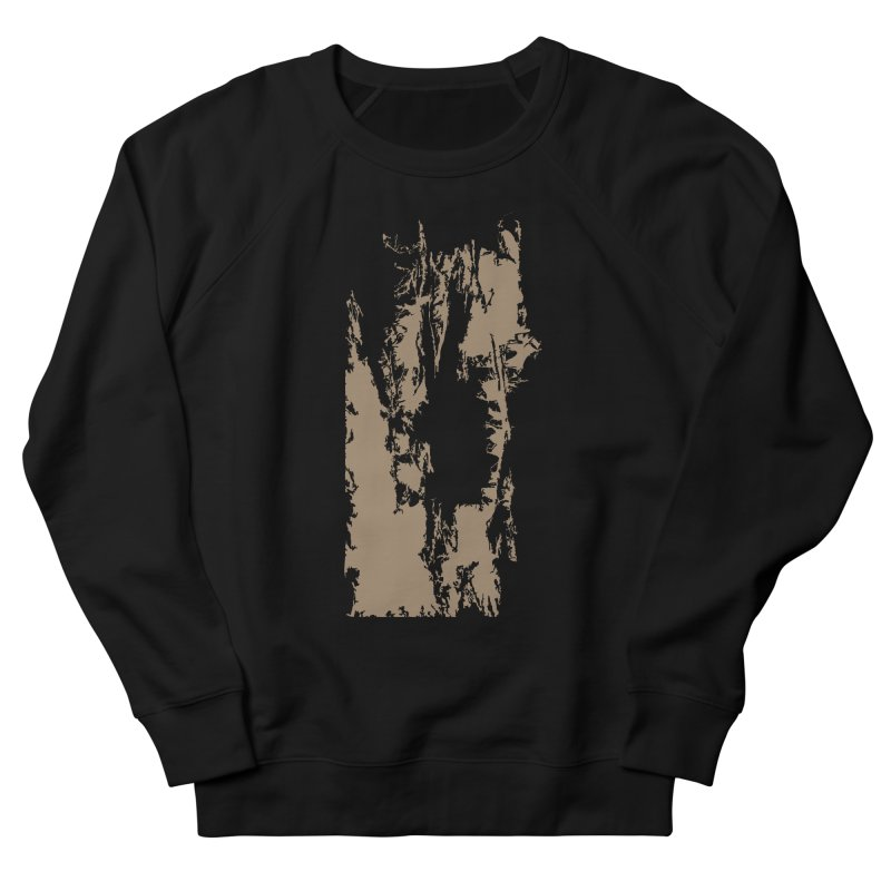 Geologic Explosion Women's French Terry Sweatshirt by Irresponsible People Black T-Shirts