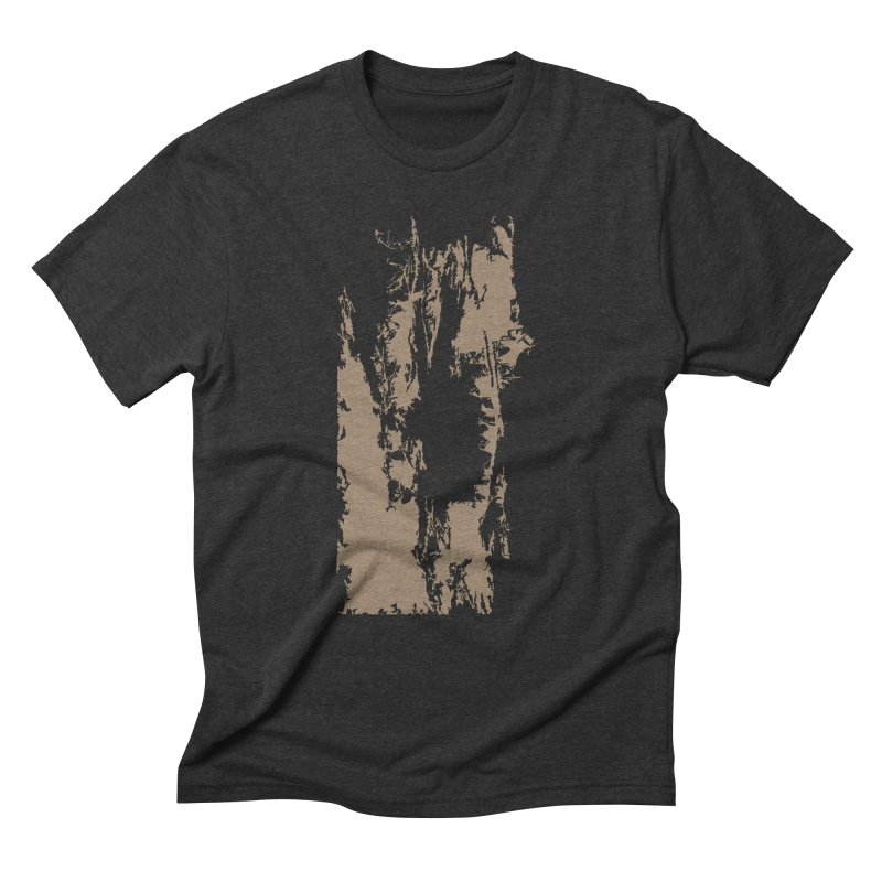 Geologic Explosion Men's Triblend T-Shirt by Irresponsible People Black T-Shirts