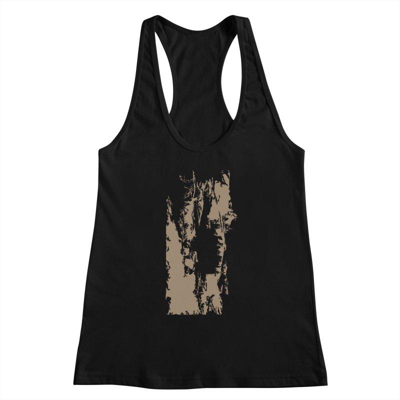 Geologic Explosion Women's Racerback Tank by Irresponsible People Black T-Shirts