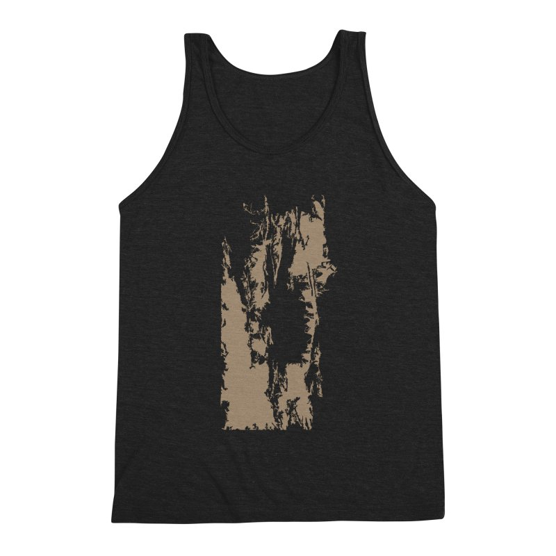 Geologic Explosion Men's Triblend Tank by Irresponsible People Black T-Shirts