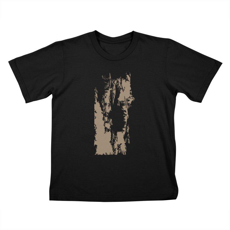 Geologic Explosion Kids T-Shirt by Irresponsible People Black T-Shirts