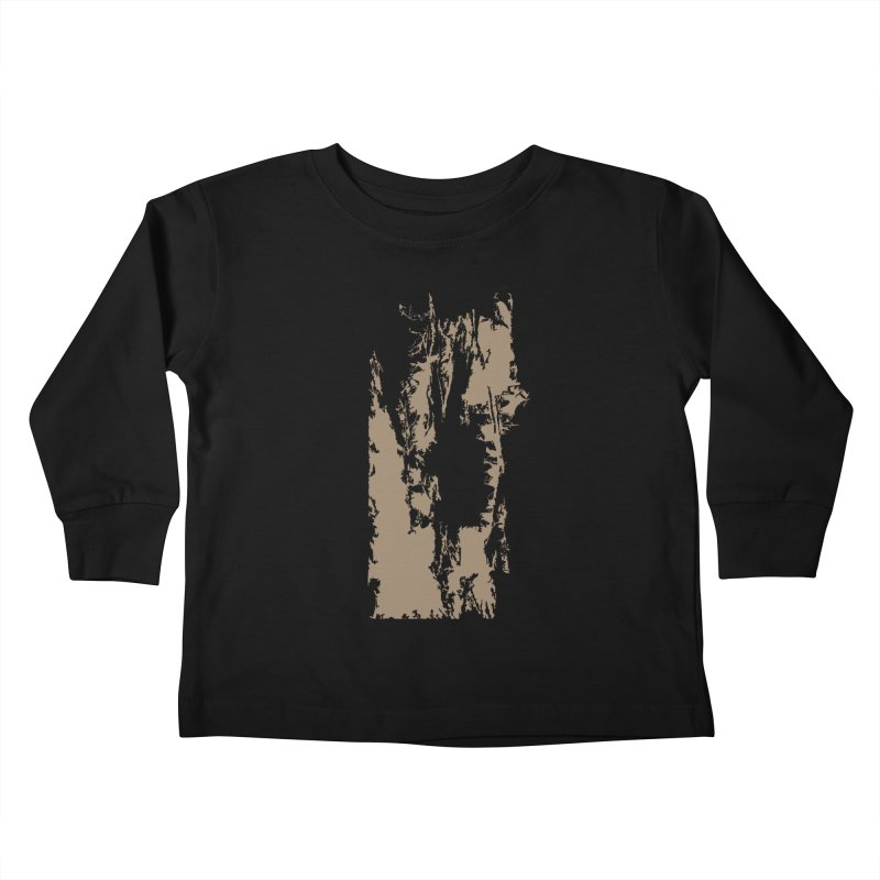 Geologic Explosion Kids Toddler Longsleeve T-Shirt by Irresponsible People Black T-Shirts