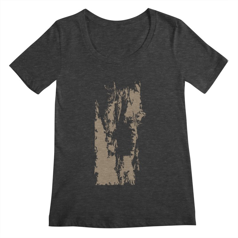 Geologic Explosion Women's Scoopneck by Irresponsible People Black T-Shirts