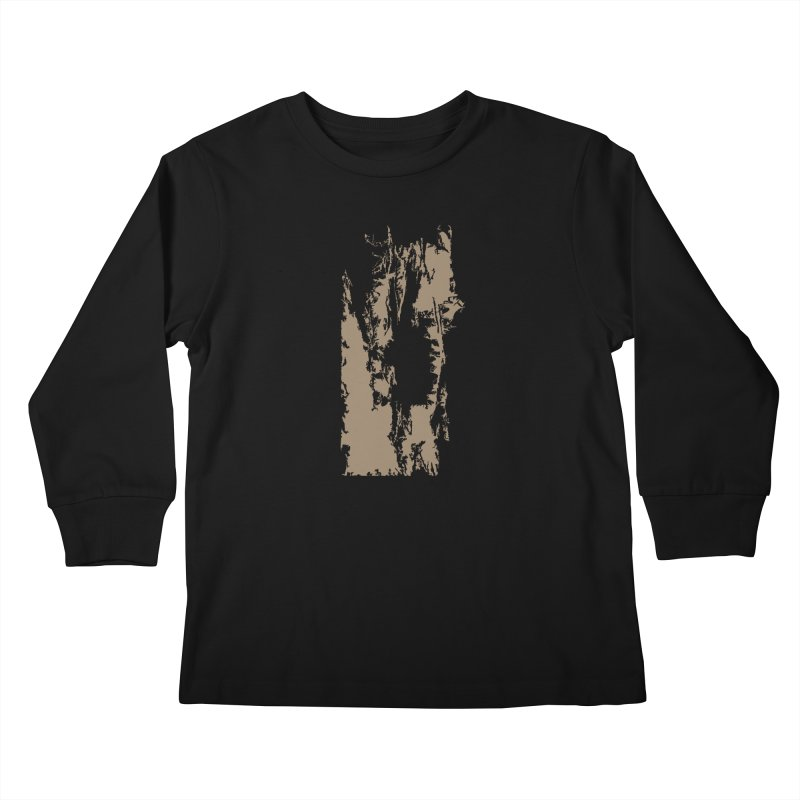 Geologic Explosion Kids Longsleeve T-Shirt by Irresponsible People Black T-Shirts