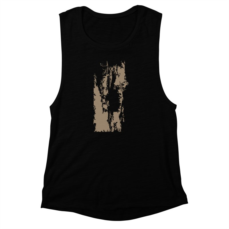 Geologic Explosion Women's Muscle Tank by Irresponsible People Black T-Shirts