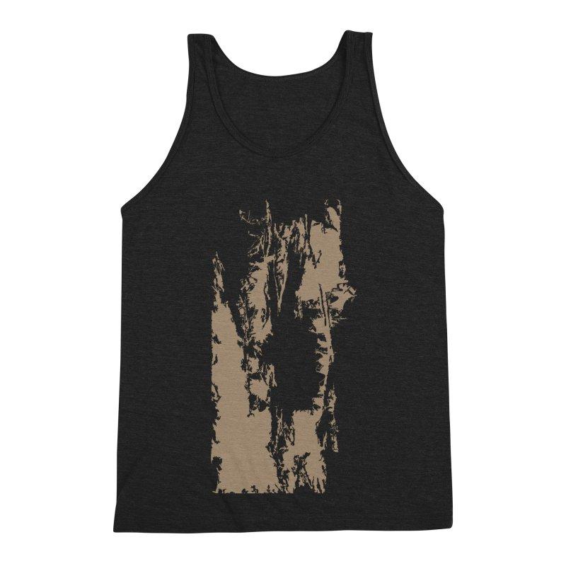Geologic Explosion Men's Triblend Tank by Irresponsible People Black T-Shirts