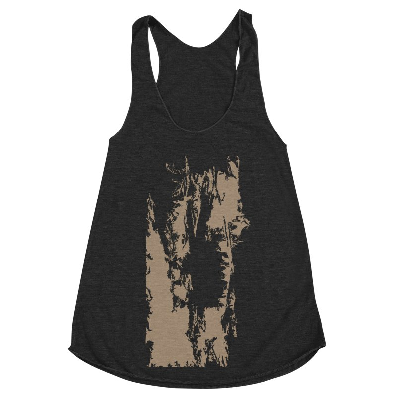 Geologic Explosion Women's Racerback Triblend Tank by Irresponsible People Black T-Shirts