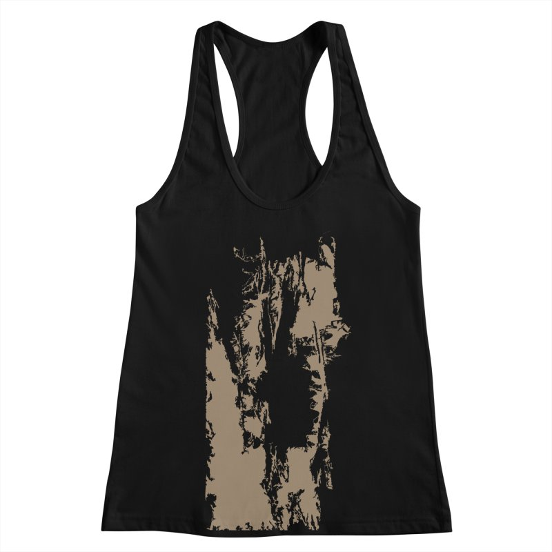 Geologic Explosion Women's Racerback Tank by Irresponsible People Black T-Shirts
