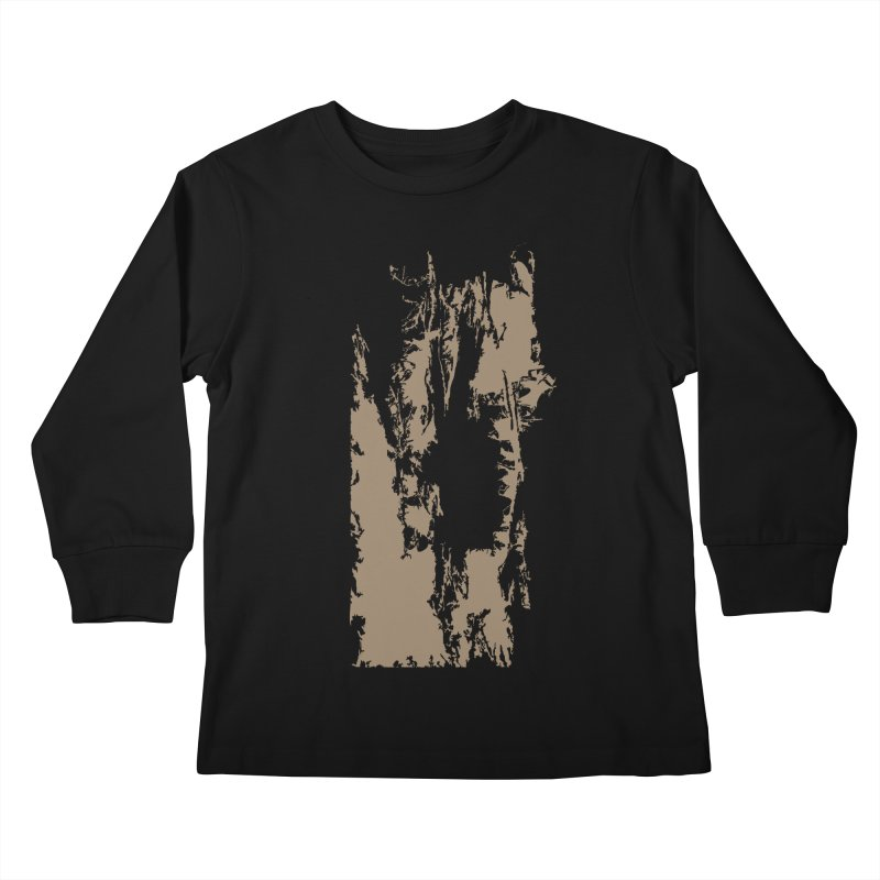 Geologic Explosion Kids Longsleeve T-Shirt by Irresponsible People Black T-Shirts
