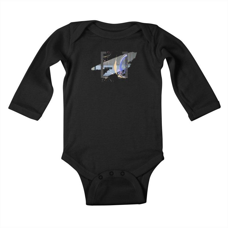 Cooking, My Darling Kids Baby Longsleeve Bodysuit by Irresponsible People Black T-Shirts