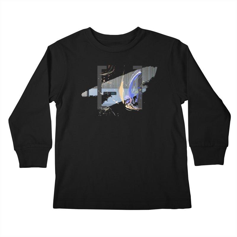 Cooking, My Darling Kids Longsleeve T-Shirt by Irresponsible People Black T-Shirts
