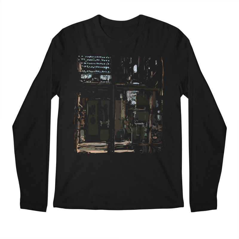 Tech Room Men's Longsleeve T-Shirt by Irresponsible People Black T-Shirts