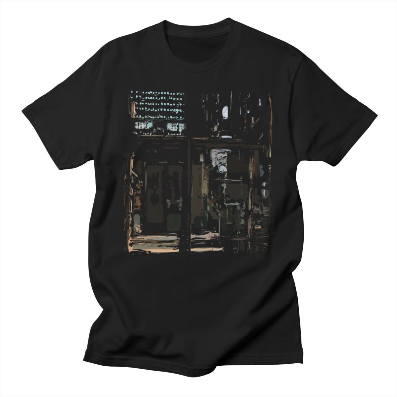 Tech Room Men's T-Shirt by Irresponsible People Black T-Shirts