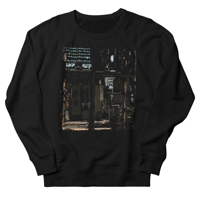 Tech Room Women's Sweatshirt by Irresponsible People Black T-Shirts