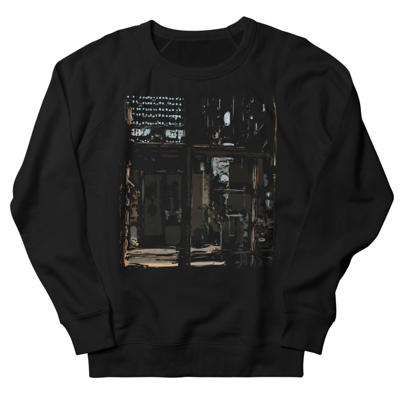 Tech Room Men's Sweatshirt by Irresponsible People Black T-Shirts