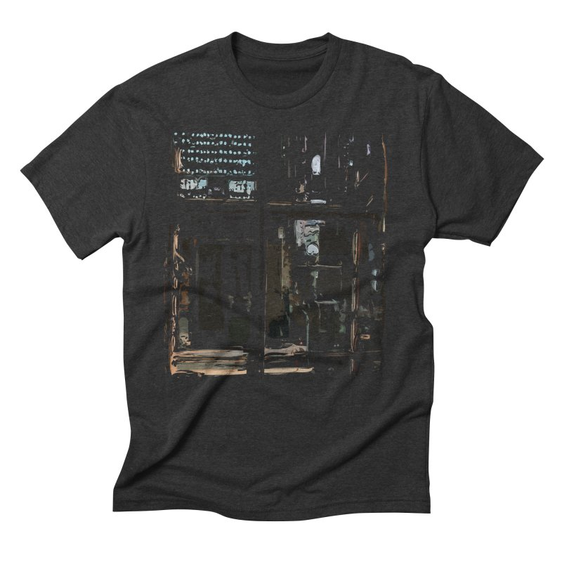 Tech Room Men's Triblend T-Shirt by Irresponsible People Black T-Shirts