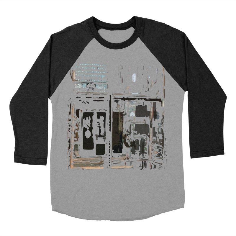 Tech Room Women's Baseball Triblend Longsleeve T-Shirt by Irresponsible People Black T-Shirts
