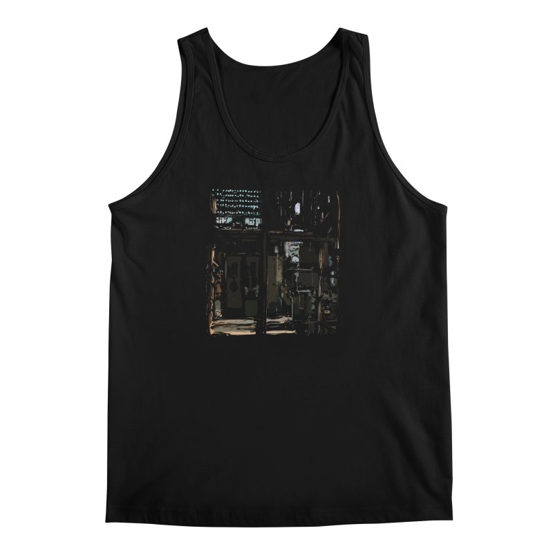Tech Room Men's Tank by Irresponsible People Black T-Shirts