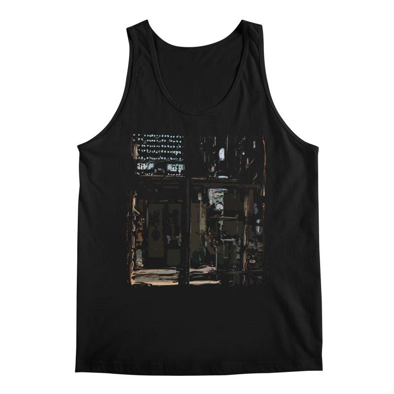 Tech Room Men's Regular Tank by Irresponsible People Black T-Shirts