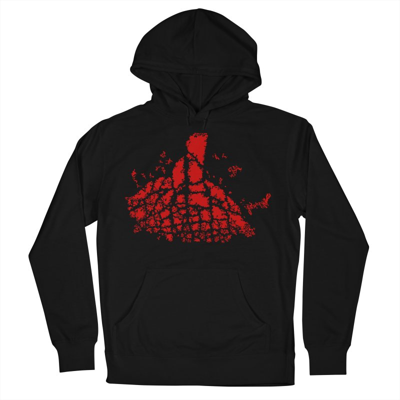 Yellowstone Magma Women's Pullover Hoody by Irresponsible People Black T-Shirts