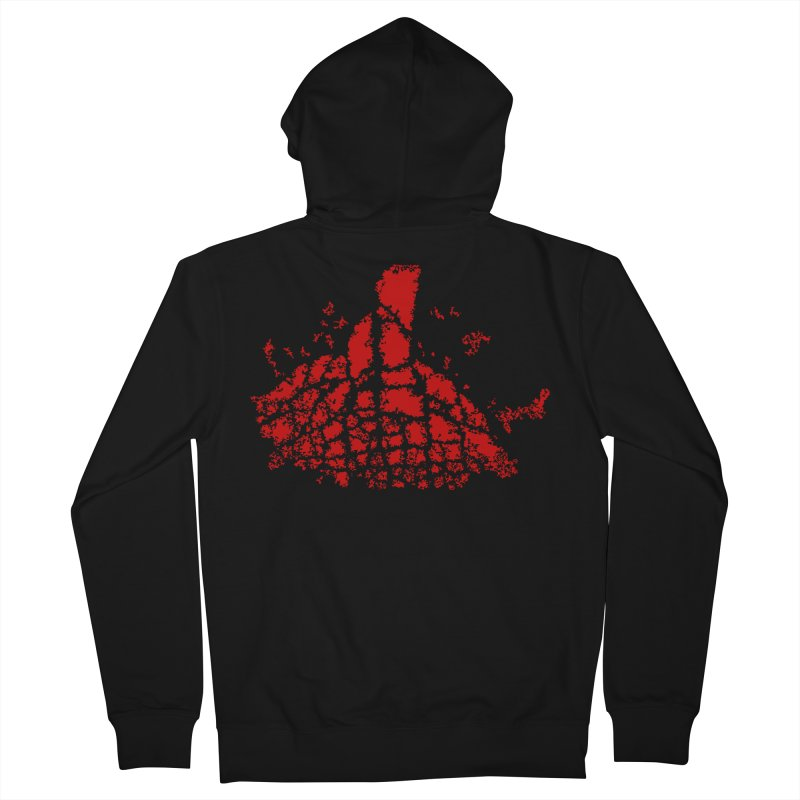 Yellowstone Magma Men's French Terry Zip-Up Hoody by Irresponsible People Black T-Shirts