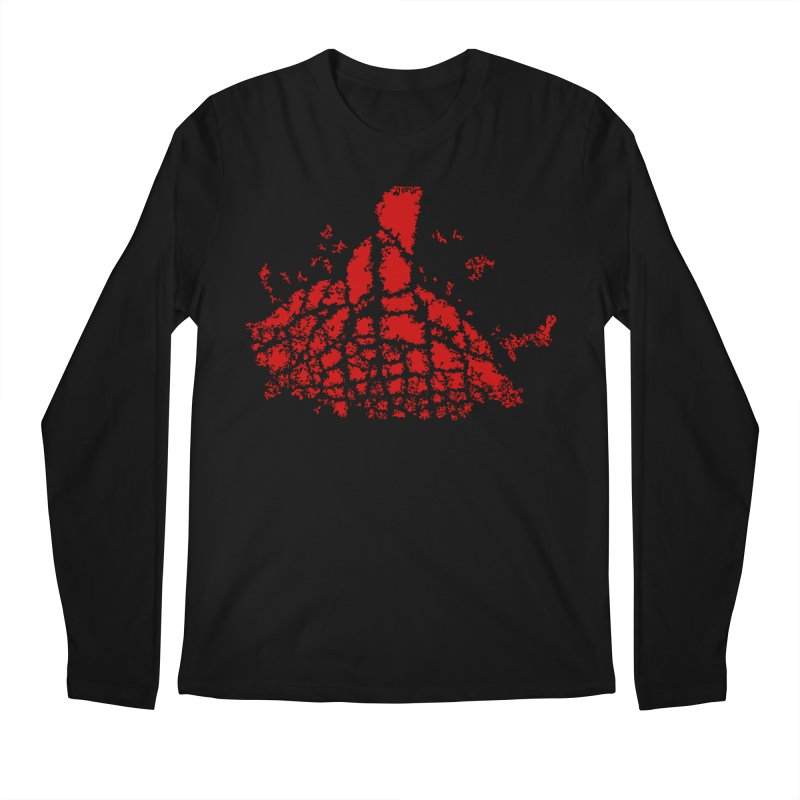 Yellowstone Magma Men's Longsleeve T-Shirt by Irresponsible People Black T-Shirts