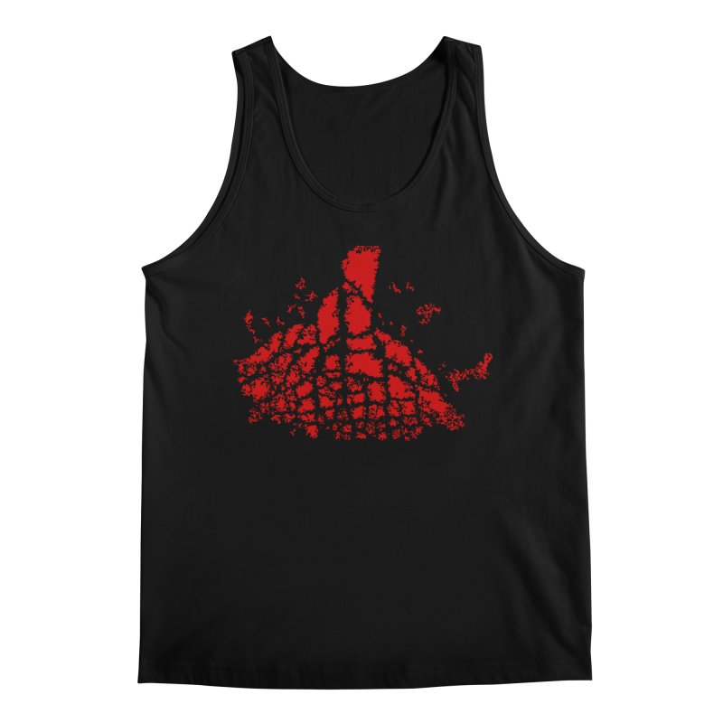 Yellowstone Magma Men's Regular Tank by Irresponsible People Black T-Shirts