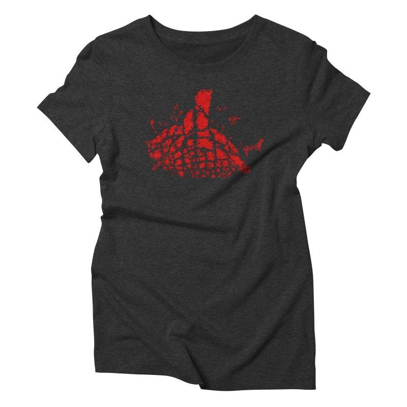 Yellowstone Magma Women's Triblend T-shirt by Irresponsible People Black T-Shirts