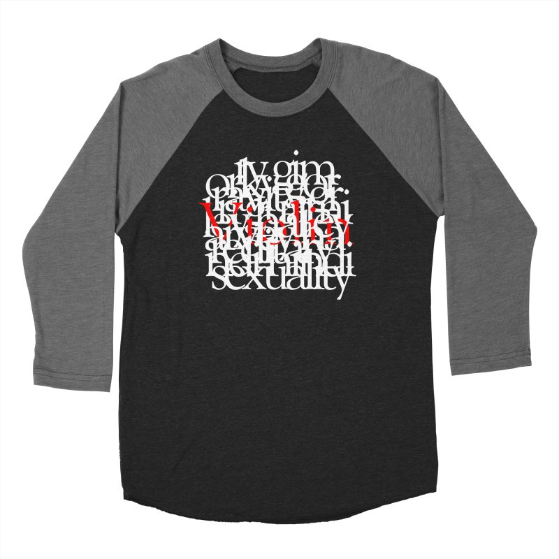 Text and Violins Women's Longsleeve T-Shirt by Irresponsible People Black T-Shirts