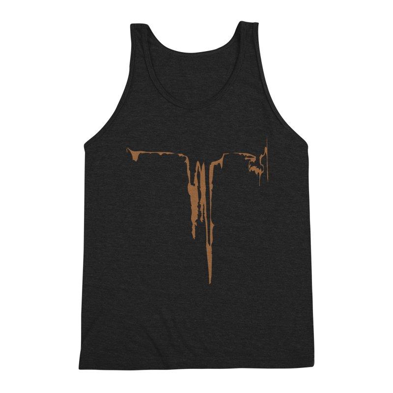 Canyon Wave Men's Triblend Tank by Irresponsible People Black T-Shirts