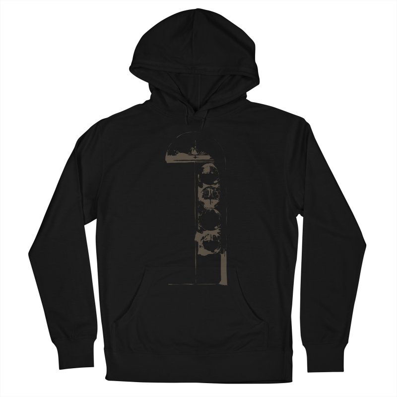 Door of Reception Men's Pullover Hoody by Irresponsible People Black T-Shirts