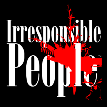 Irresponsible People Black T-Shirts Logo