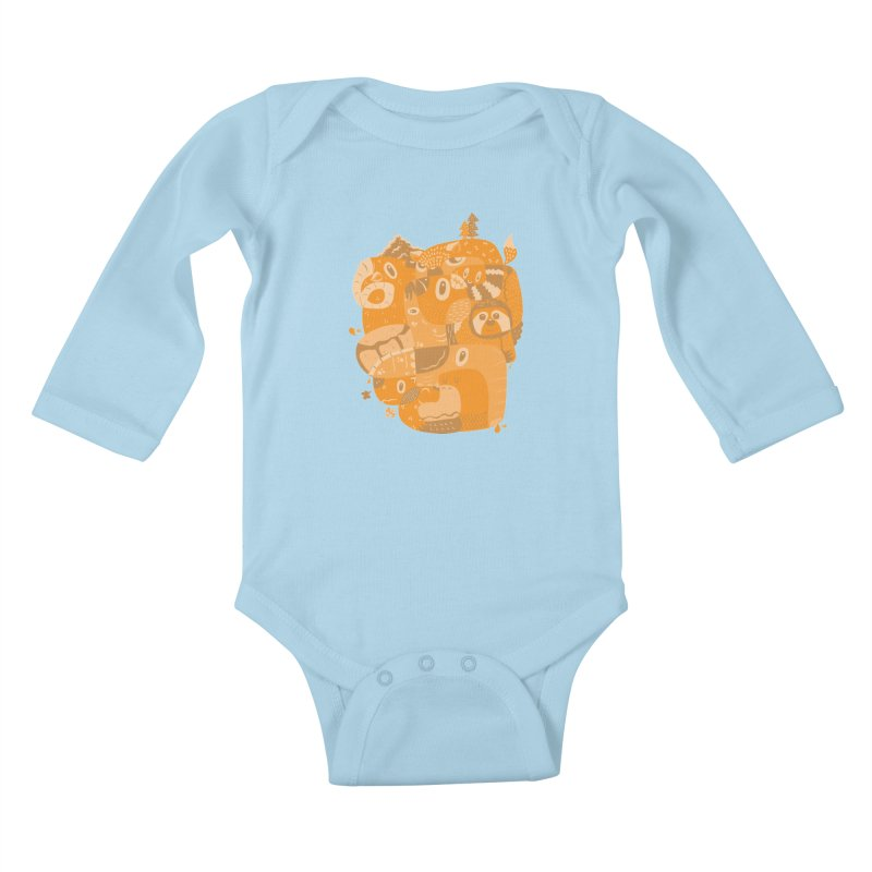 Still Wild & Free Kids Baby Longsleeve Bodysuit by Ismewayoflife