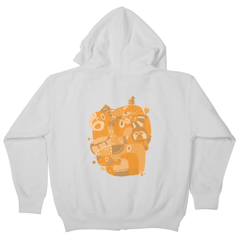 Still Wild & Free Kids Zip-Up Hoody by Ismewayoflife