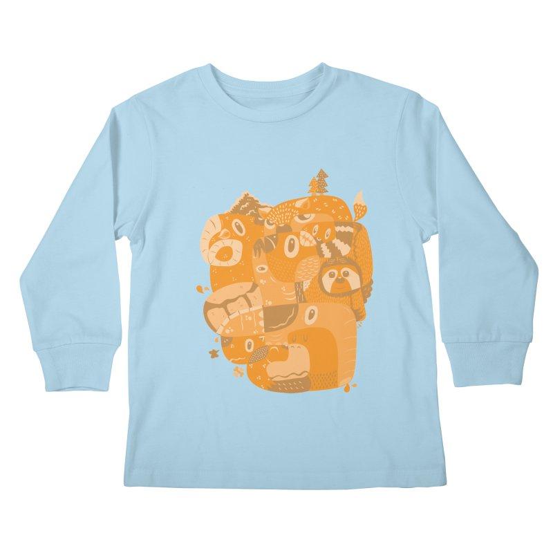 Still Wild & Free Kids Longsleeve T-Shirt by Ismewayoflife