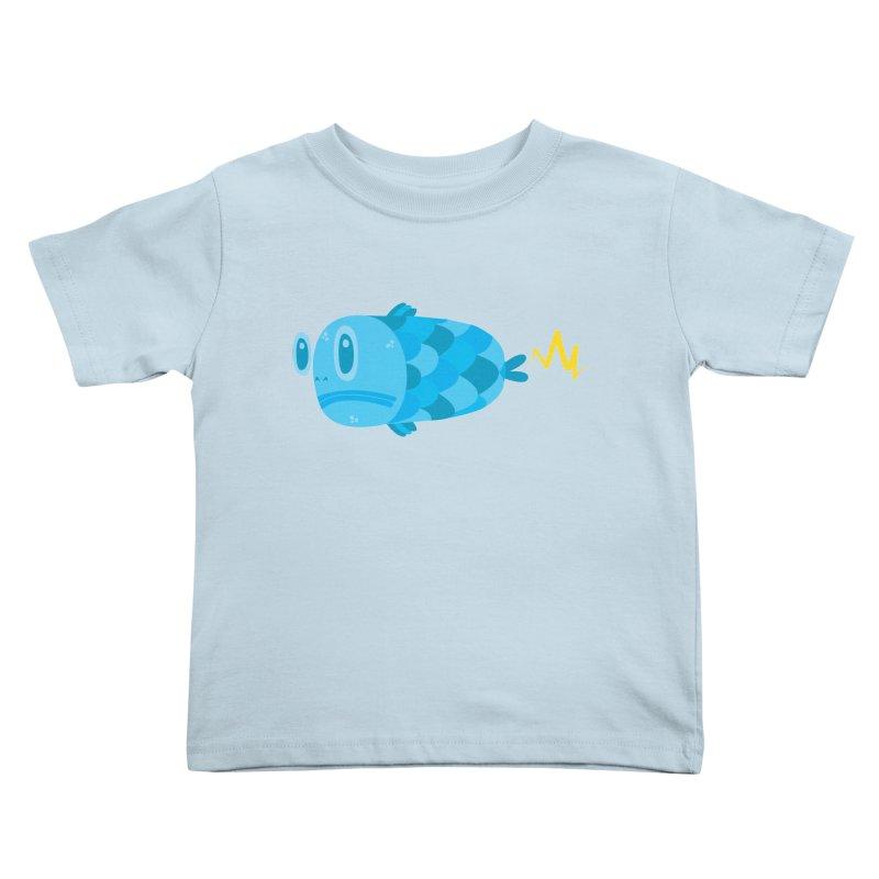 FISSSH! Kids Toddler T-Shirt by Ismewayoflife