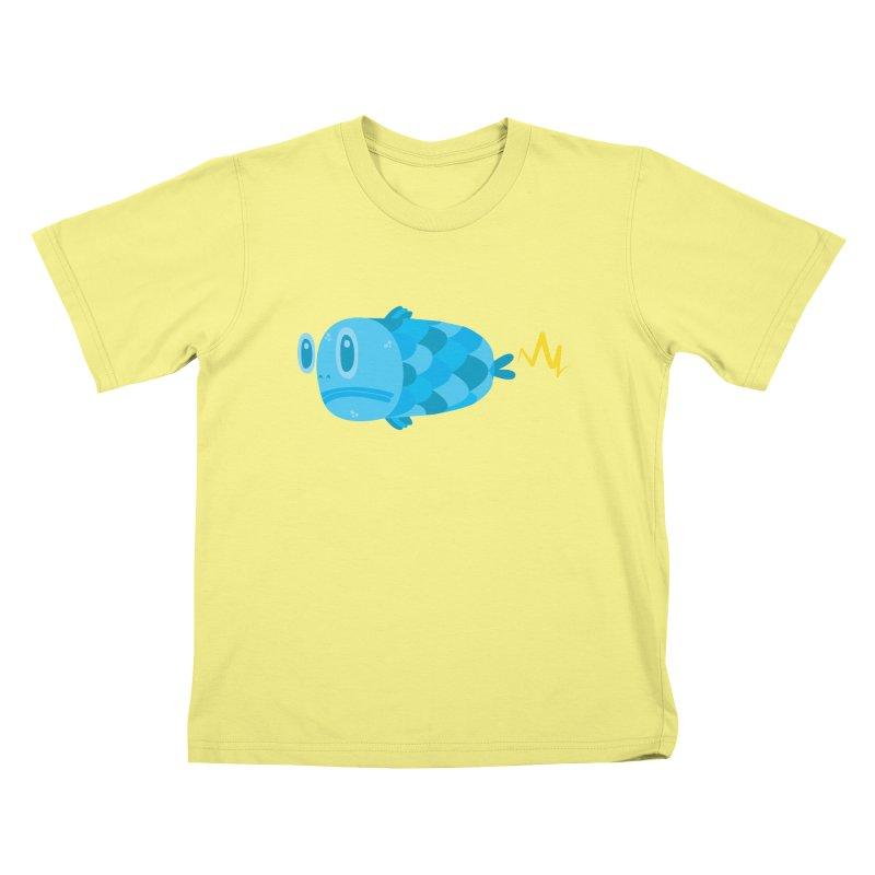 FISSSH! Kids T-shirt by Ismewayoflife