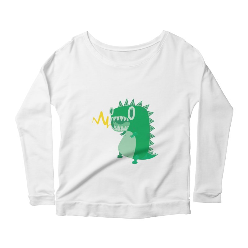 RAWRRR! Women's Longsleeve Scoopneck  by Ismewayoflife