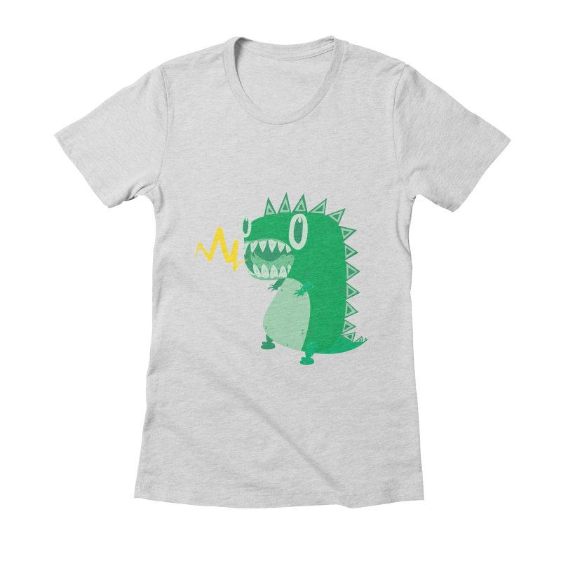 RAWRRR! Women's Fitted T-Shirt by Ismewayoflife