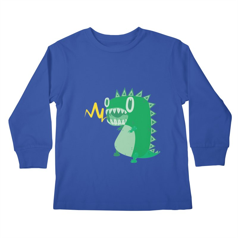RAWRRR! Kids Longsleeve T-Shirt by Ismewayoflife