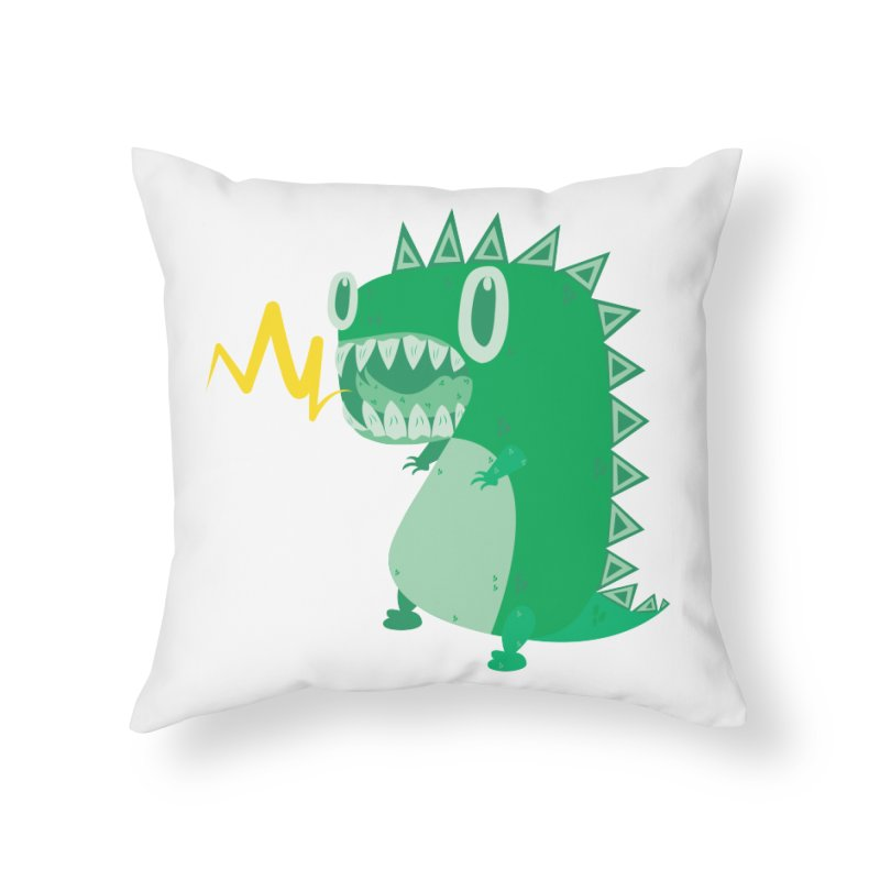 RAWRRR! Home Throw Pillow by Ismewayoflife