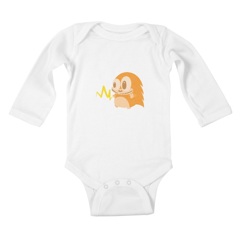Piak! Piak! Piakupine! Kids Baby Longsleeve Bodysuit by Ismewayoflife