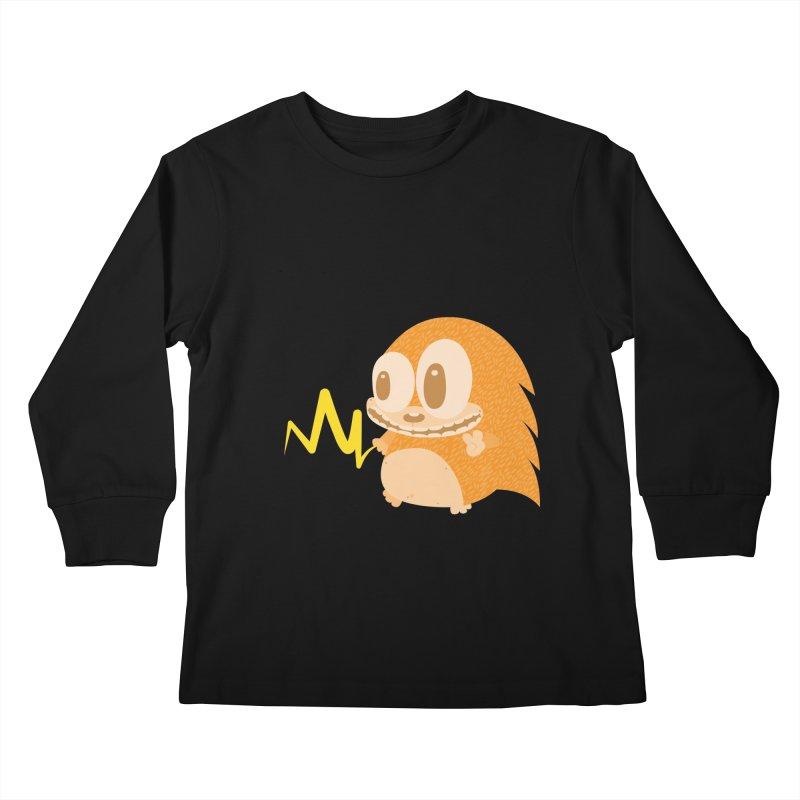 Piak! Piak! Piakupine! Kids Longsleeve T-Shirt by Ismewayoflife
