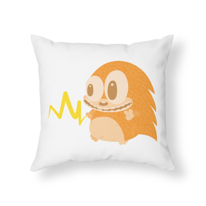 Piak! Piak! Piakupine! Home Throw Pillow by Ismewayoflife