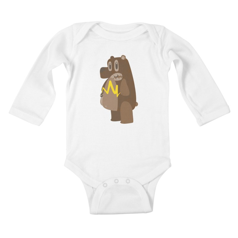 BeaRRR! Kids Baby Longsleeve Bodysuit by Ismewayoflife