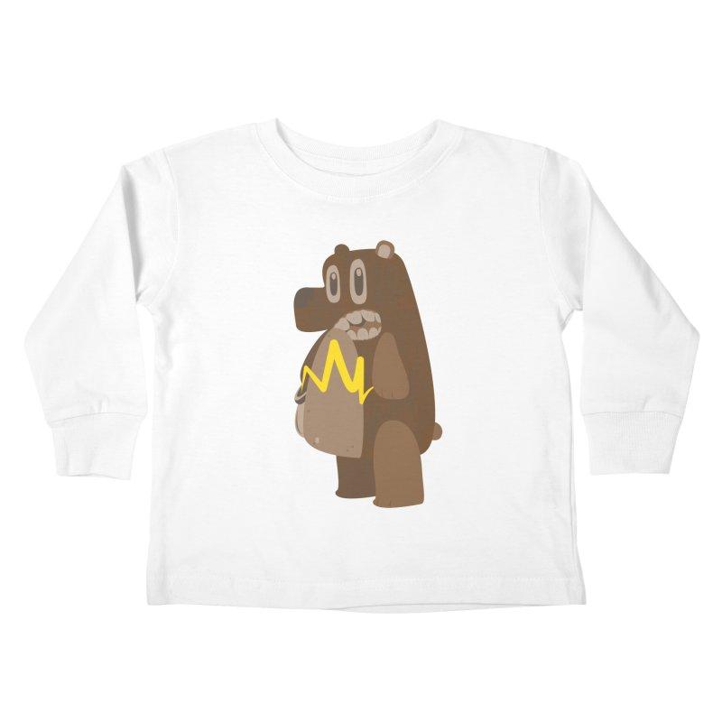 BeaRRR! Kids Toddler Longsleeve T-Shirt by Ismewayoflife
