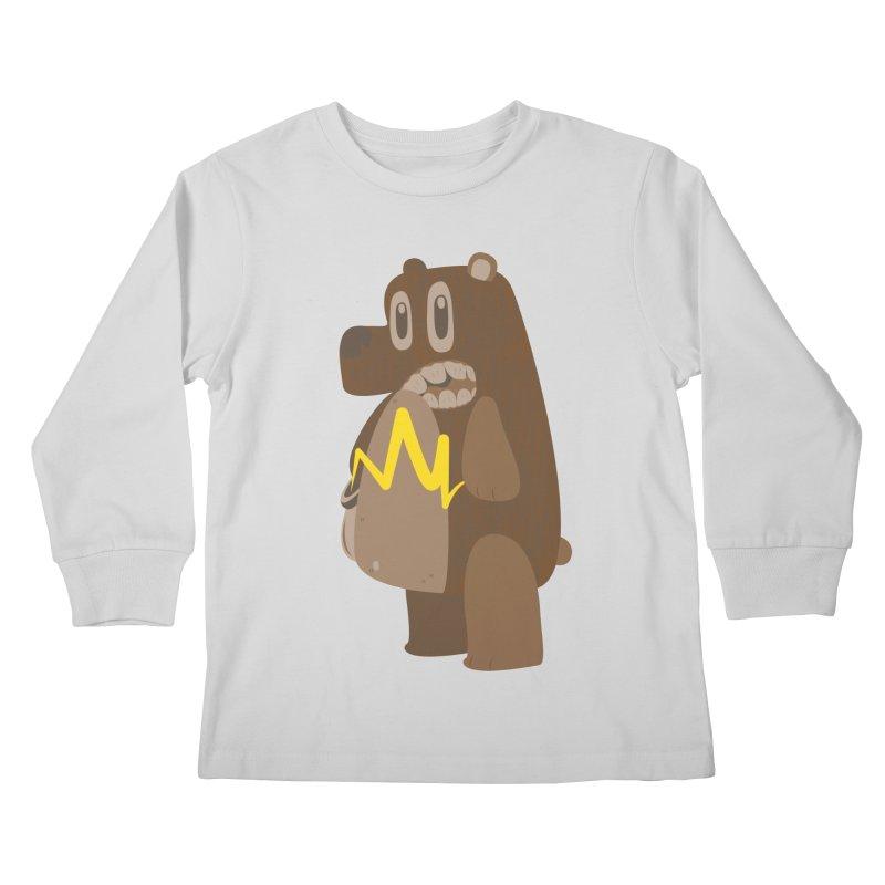 BeaRRR! Kids Longsleeve T-Shirt by Ismewayoflife