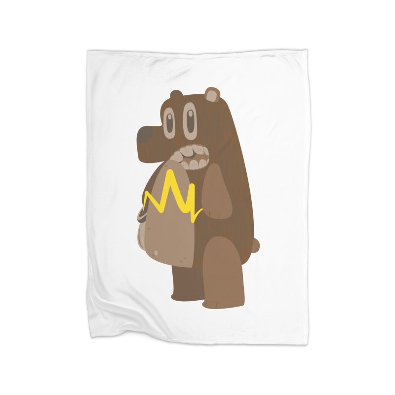 BeaRRR! Home Blanket by Ismewayoflife