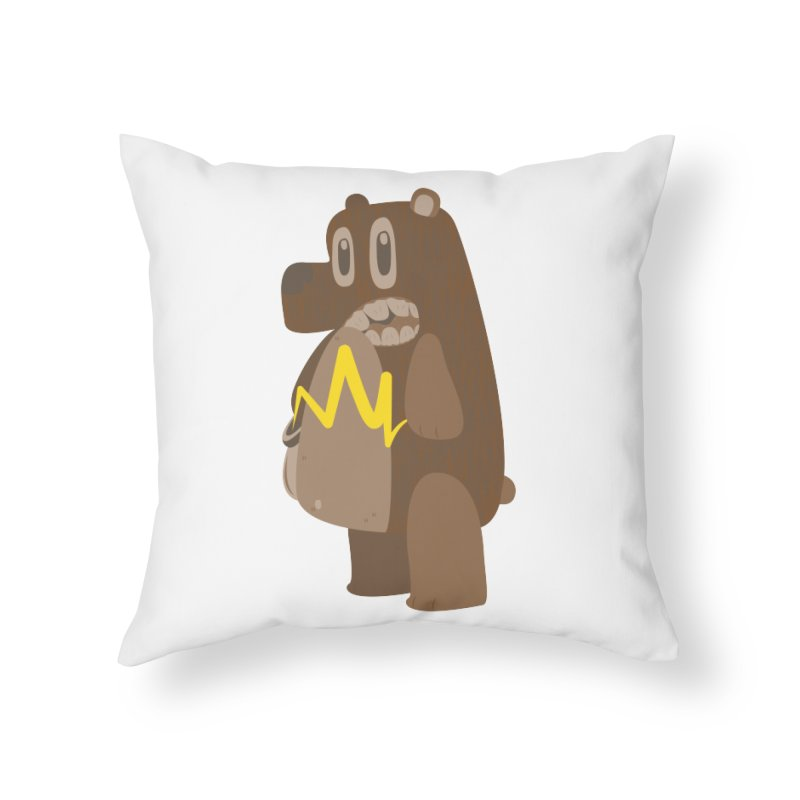 BeaRRR! Home Throw Pillow by Ismewayoflife